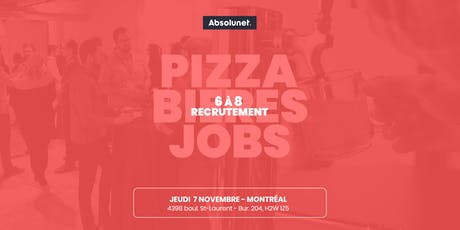 6@8 RECRUTEMENT / RECRUITMENT MONTREAL tickets