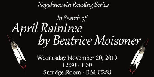 Negahneewin Reading Series - In Search of April Raintree