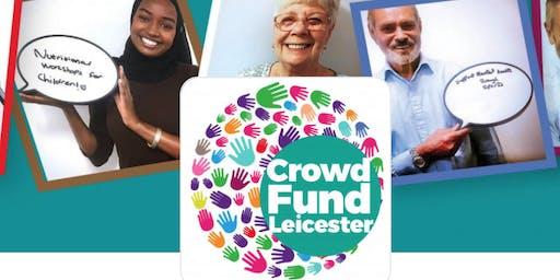 CrowdFund Leicester - Nov 2019 project workshop
