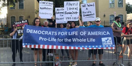 Democratic Debate PRO-LIFE Democrat Rally