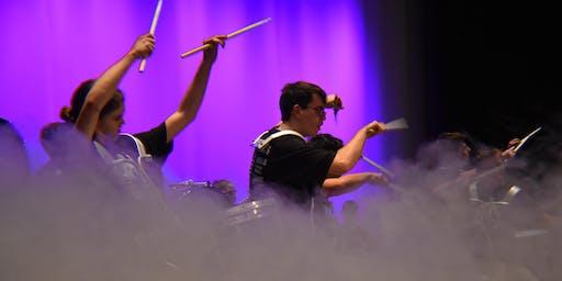 West Bend High Schools Indoor Marching Band Concert 2019