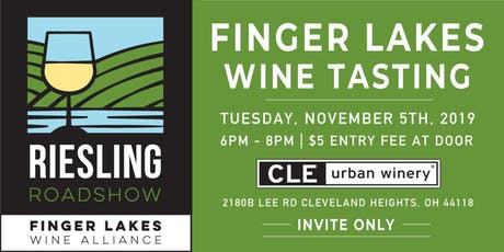 Finger Lakes Riesling Roadshow tickets