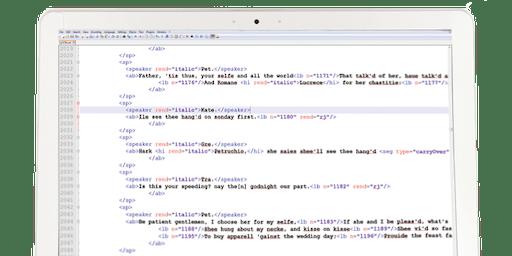 Text Encoding Initiative Workshop