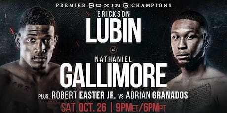 Showtime Boxing Lubin vs Gallimore tickets