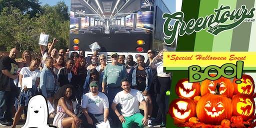 GreenToursLA Halloween Horror Bus