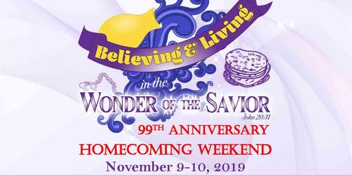 99th Anniversary Weekend - Homecoming