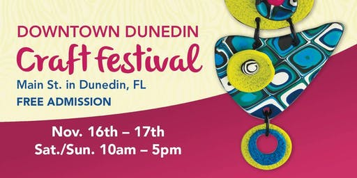 27th Annual Downtown Dunedin Craft Festival