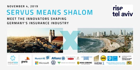 Servus means Shalom: Meet  innovators from Germany's insurance industry Tickets