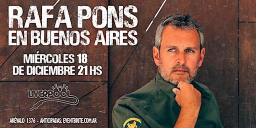 Rafa Pons en Buenos Aires