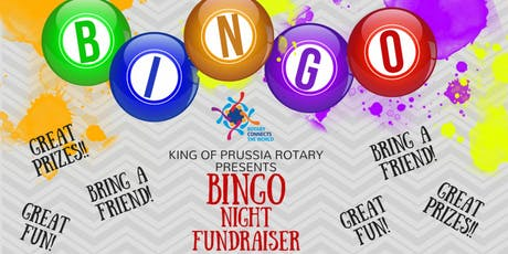 King of Prussia Rotary Bingo Fundraiser tickets