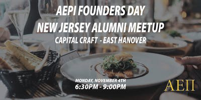 AEPi Founders Day: New Jersey Alumni Meetup