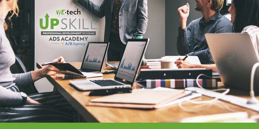 WEtech Alliance UPskill Ad Academy powered by A/B Agency