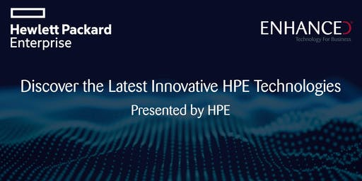 Discover the Latest Innovative HPE Technologies