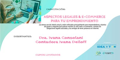 Aspectos Legales & E- Commerce para tu emprendimiento