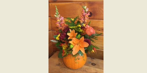 "Design a ""Pumpkin Centerpiece"" @ DiMeco's"