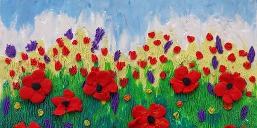 Sculpting Art Class - Poppies Mon Nov 4