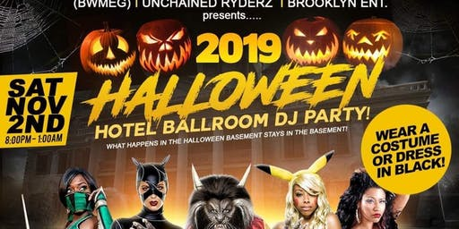 (BWMEG) presents The 4th Annual Hotel Halloween DJ Party ~ WEAR A COSTUME *or* WEAR ALL BLACK feat. DeeJay Casper |&| DJ Easy |&| Special Guest Host TBA & *5* Costume Contests!