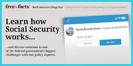 Free the Facts @ American University: Learn About Social Security tickets