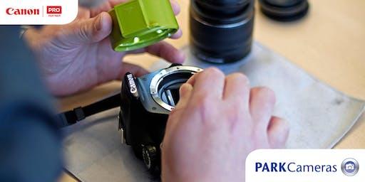 FREE Canon Sensor clean: Burgess Hill
