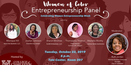 Women of Color Entrepreneurship Panel tickets