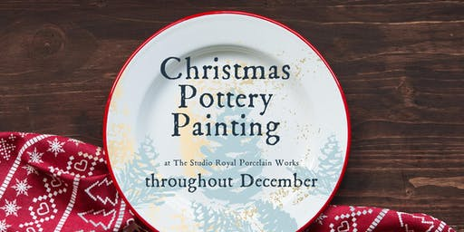 Christmas Pottery Painting Workshops