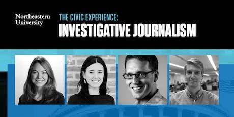 Northeastern University's Civic Experience series: Investigative Journalism tickets