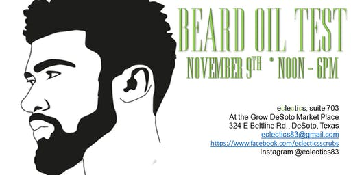 Beard Oil Test