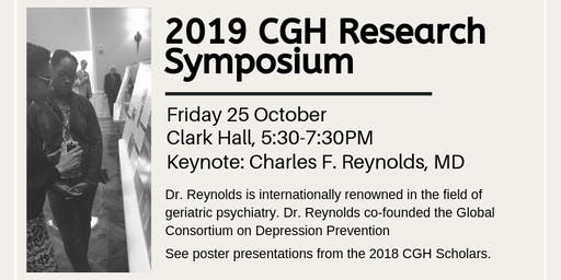 2019 CGH Research Symposium