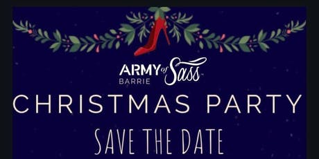 AOS Barrie Christmas Party tickets