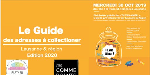"Distribution gratuite du guide ""Tu vas aimer"""