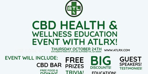 CBD Education Event with ATLRx!