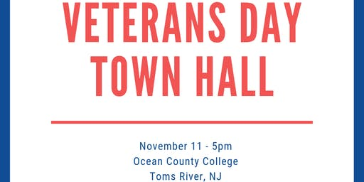 Congressman Kim Veterans Day Town Hall