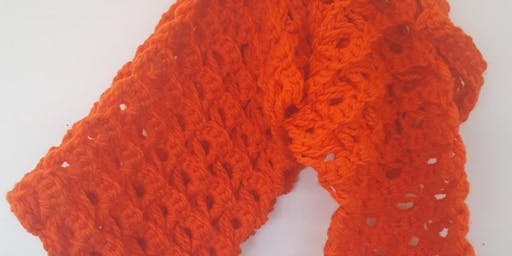 Crochet Class - Broomstick Lace Scarf