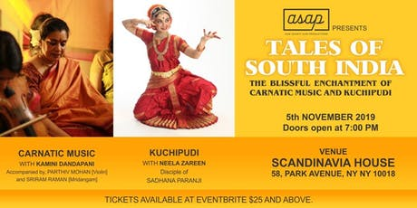 Tales Of South India tickets