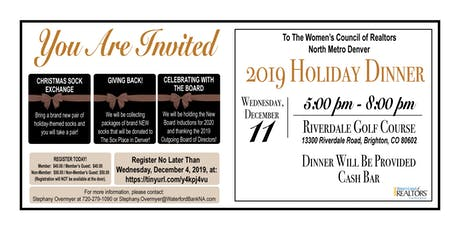 2019 Holiday Dinner tickets