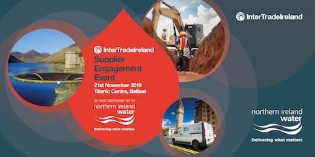 InterTradeIreland Supplier Engagement Event: NI Water Nov tickets