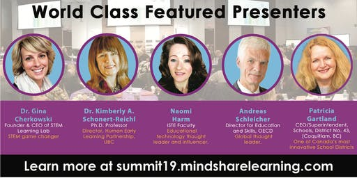 10th Canadian EdTech Innovation Summit - Presented by MindShare Learning