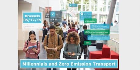 Millennials and Zero Emission Transport tickets