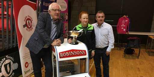 The Robinson's Ice Cream Ulster Open Table Tennis Championships 2019