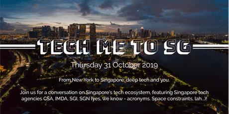 Fireside Chat: Tech Me To SG! tickets