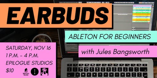 Earbuds: Ableton for Beginners