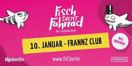 Fisch sucht Fahrrad-Party in Berlin - Januar 2020