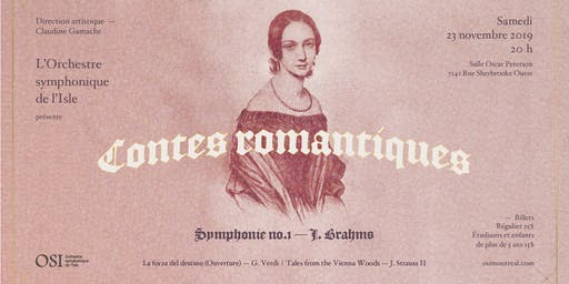 L'OSI présente Contes romantiques