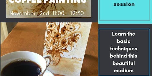 Coffee Painting with Sietske Johnson