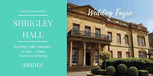 Shrigley Hall Wedding Fayre Hosted by County Brides