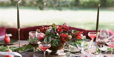DEC 19   Floral Design Class: Holiday Centerpiece