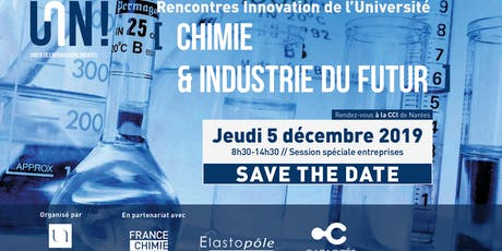 Rencontres Innovation de l'Université de Nantes - Chimie Industrie du futur tickets