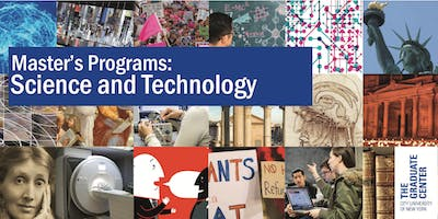 Master's Programs Open House: Science and Technology