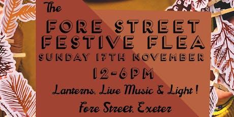 Festive Fore Street Flea tickets
