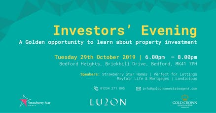 """""""Golden Opportunity"""" for Investors tickets"""
